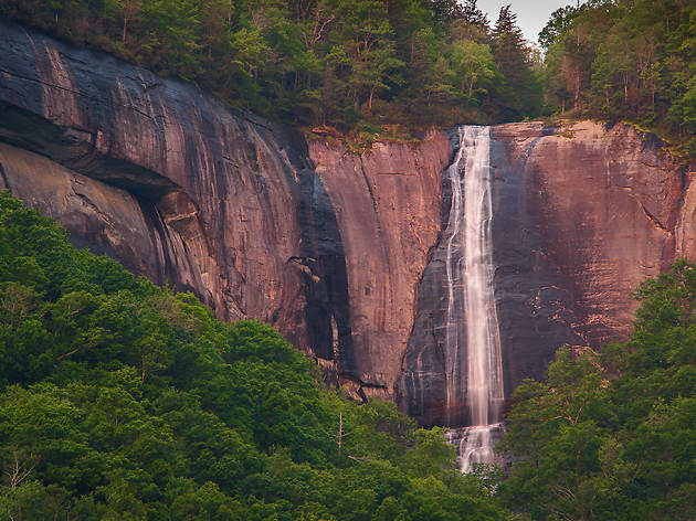 Hickory Nut Falls, Chimney Rock State Park, North Carolina