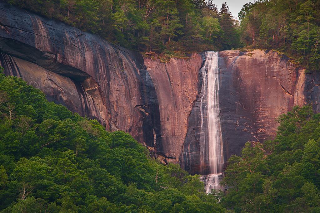 Hickory Nut Falls, Chimney Rock State Park, North Carolina