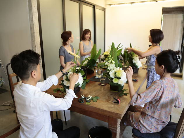 Take up ikebana