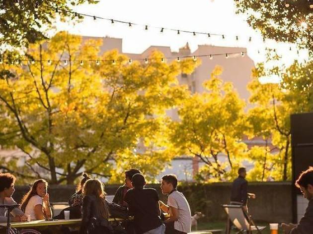 The ten best outdoor terraces in Paris