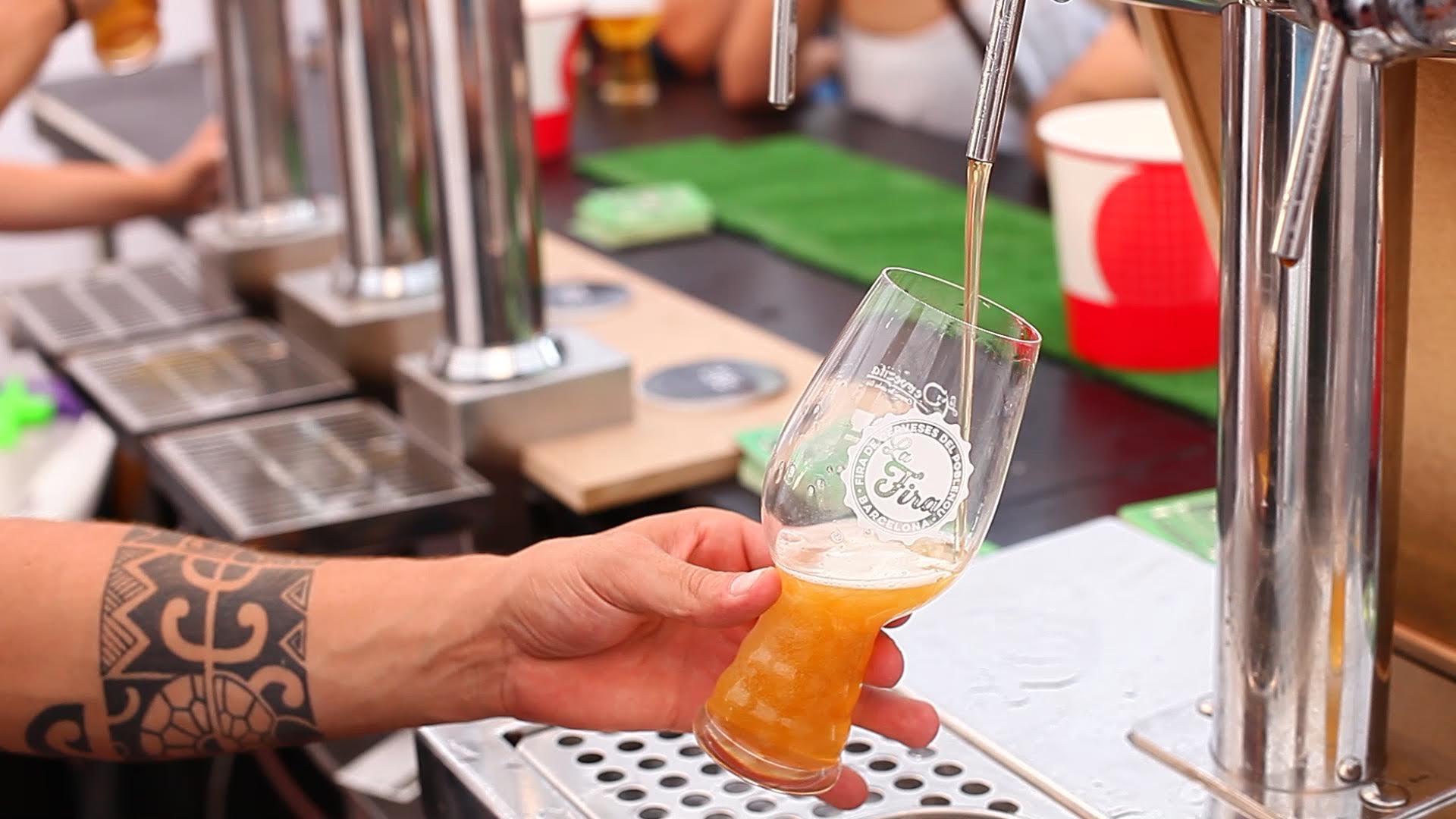 V Fira de Cerveses Artesanes del Poblenou