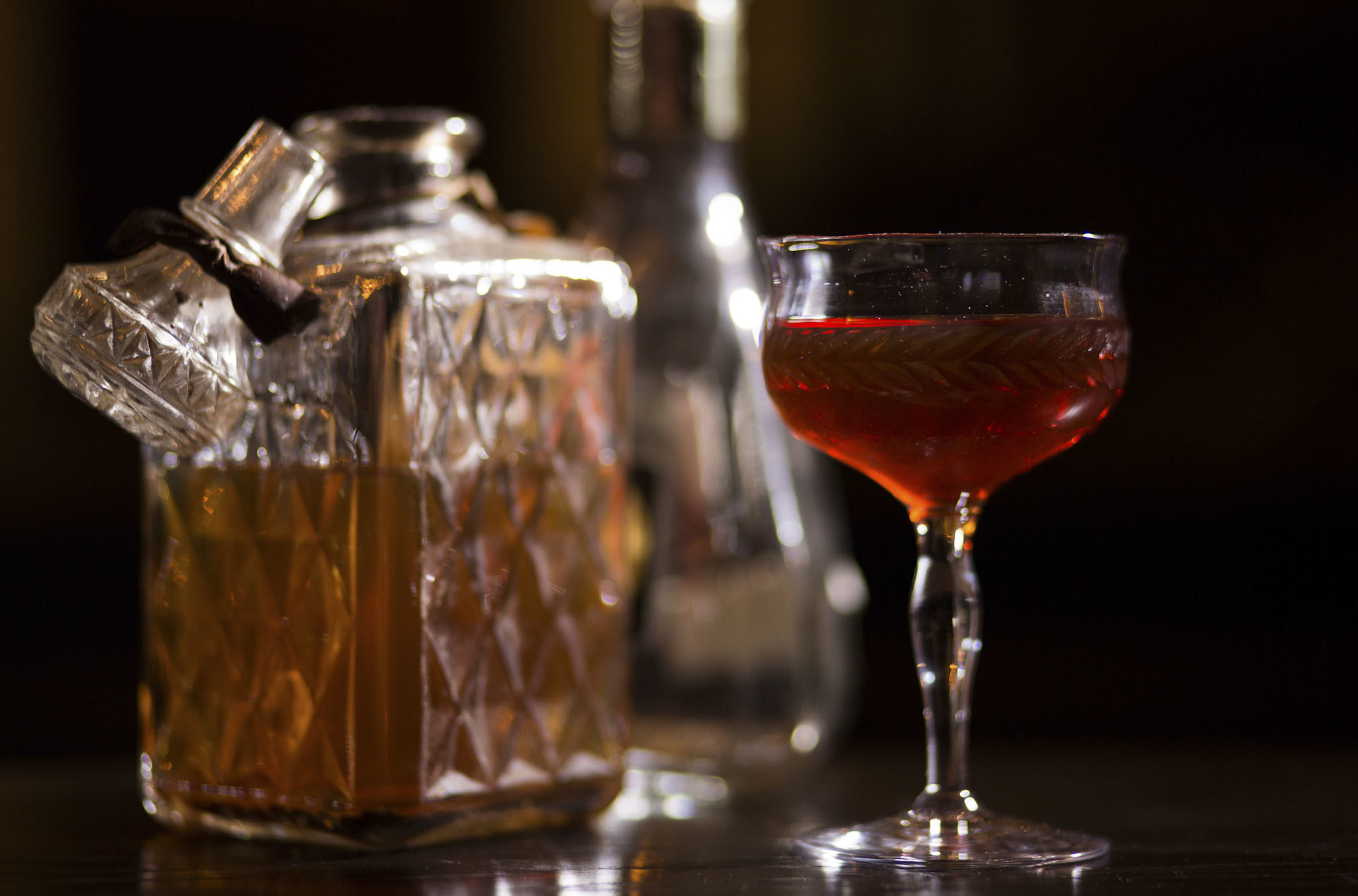 Continuous Negroni at the Berkshire Room