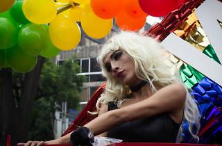 drags en la Marcha del Orgullo LGBTTTI en la CDMX
