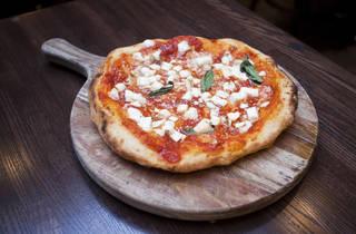 Montanara pizza at Don Antonio