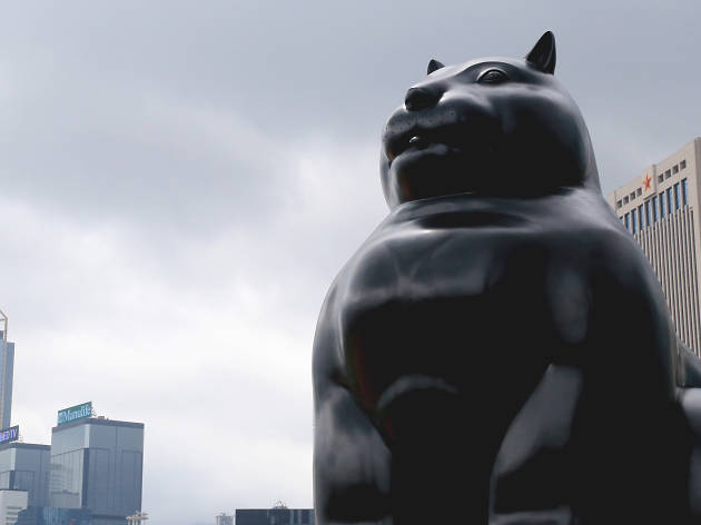 Cat by Fernando Botero (1999)