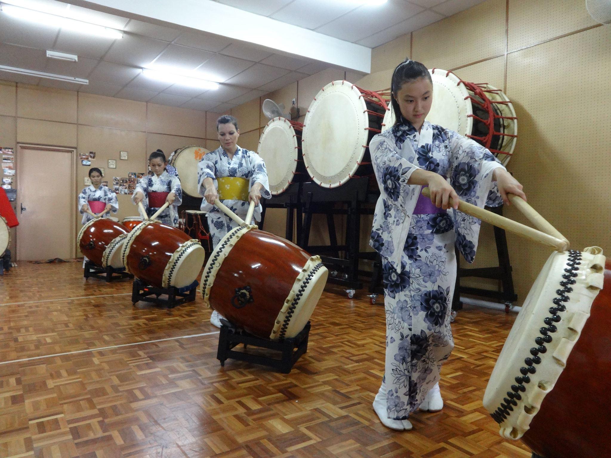 Wadaiko Syo: The art of taiko drumming