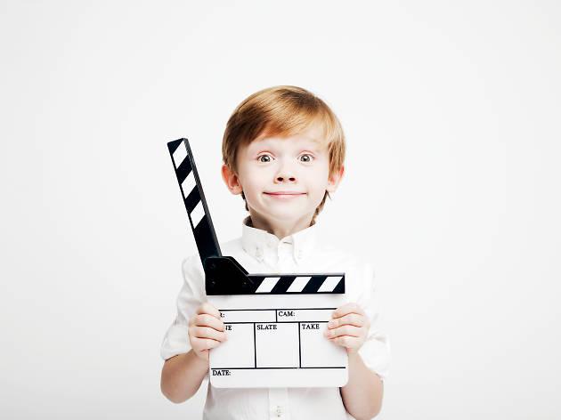 enfant cinéma roux