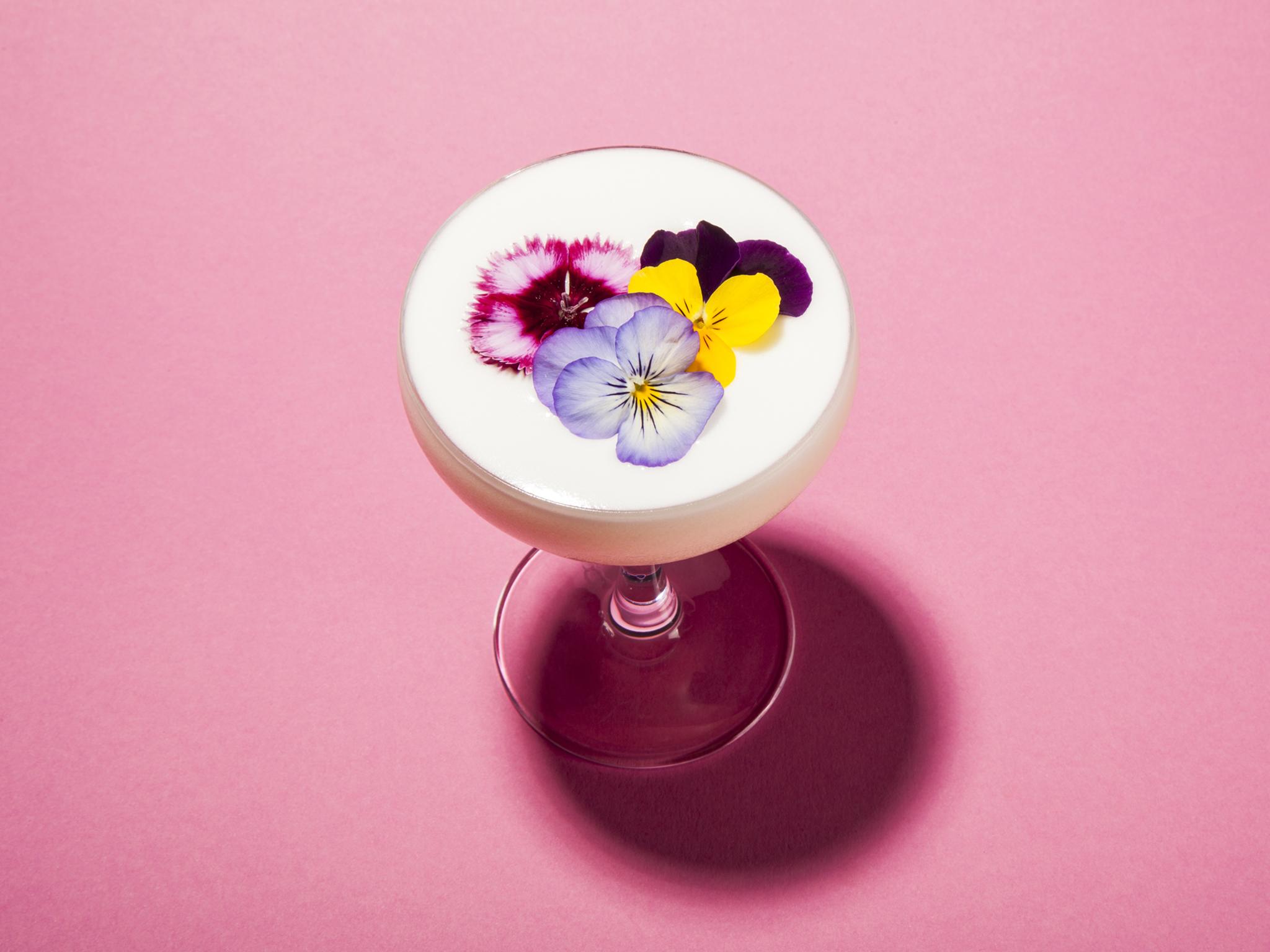 summer cocktails in london, dandelyan, jinsom blossom