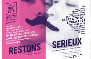 Restons Sérieux : le festival de musique française beau & bizarre