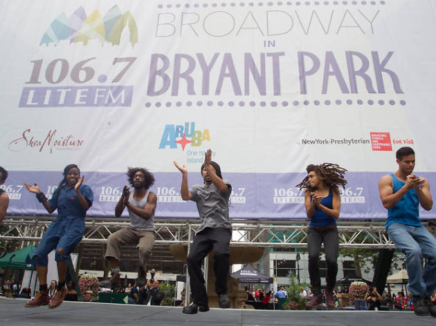 Broadway in Bryant Park announces its 2016 lineup of free lunchtime concerts