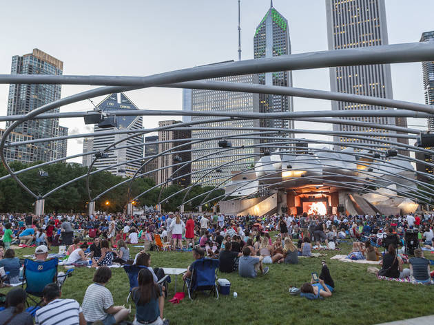 Here's every free event happening in Millennium Park this summer
