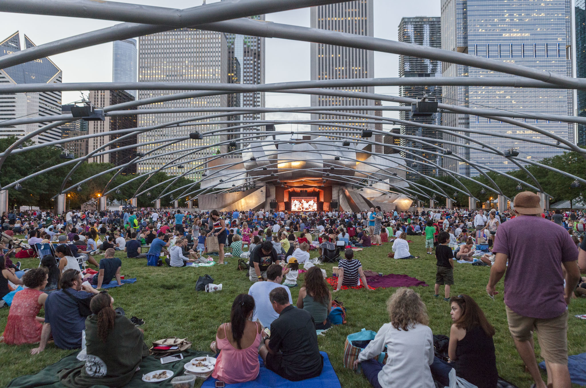 Millennium Park has become the Midwest's top tourist attraction