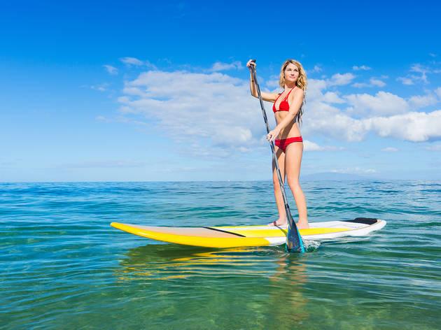 Go kayaking or paddleboarding