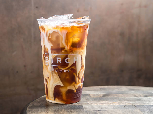 Kyoto cold brew at Birch Coffee