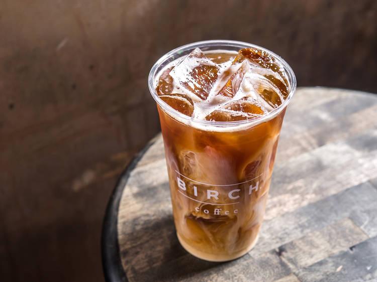 Kyoto cold brew at Birch Coffee