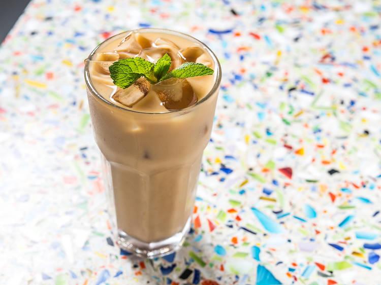 Mexican iced mocha at El Rey Coffee Bar & Luncheonette