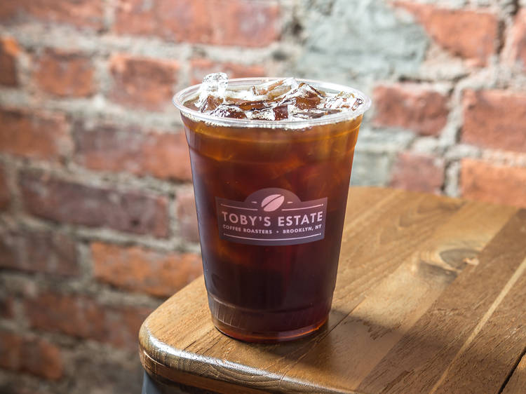 Cold brew at Toby's Estate