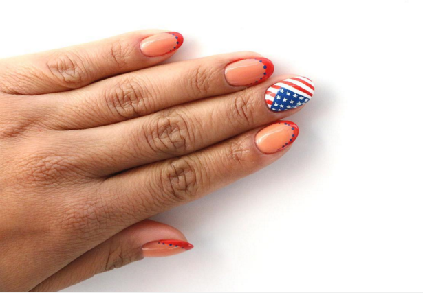 Try to recreate these non-cheesy 4th of July nail art looks