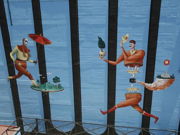 Interesni Kazki arte urbano en la CDMX