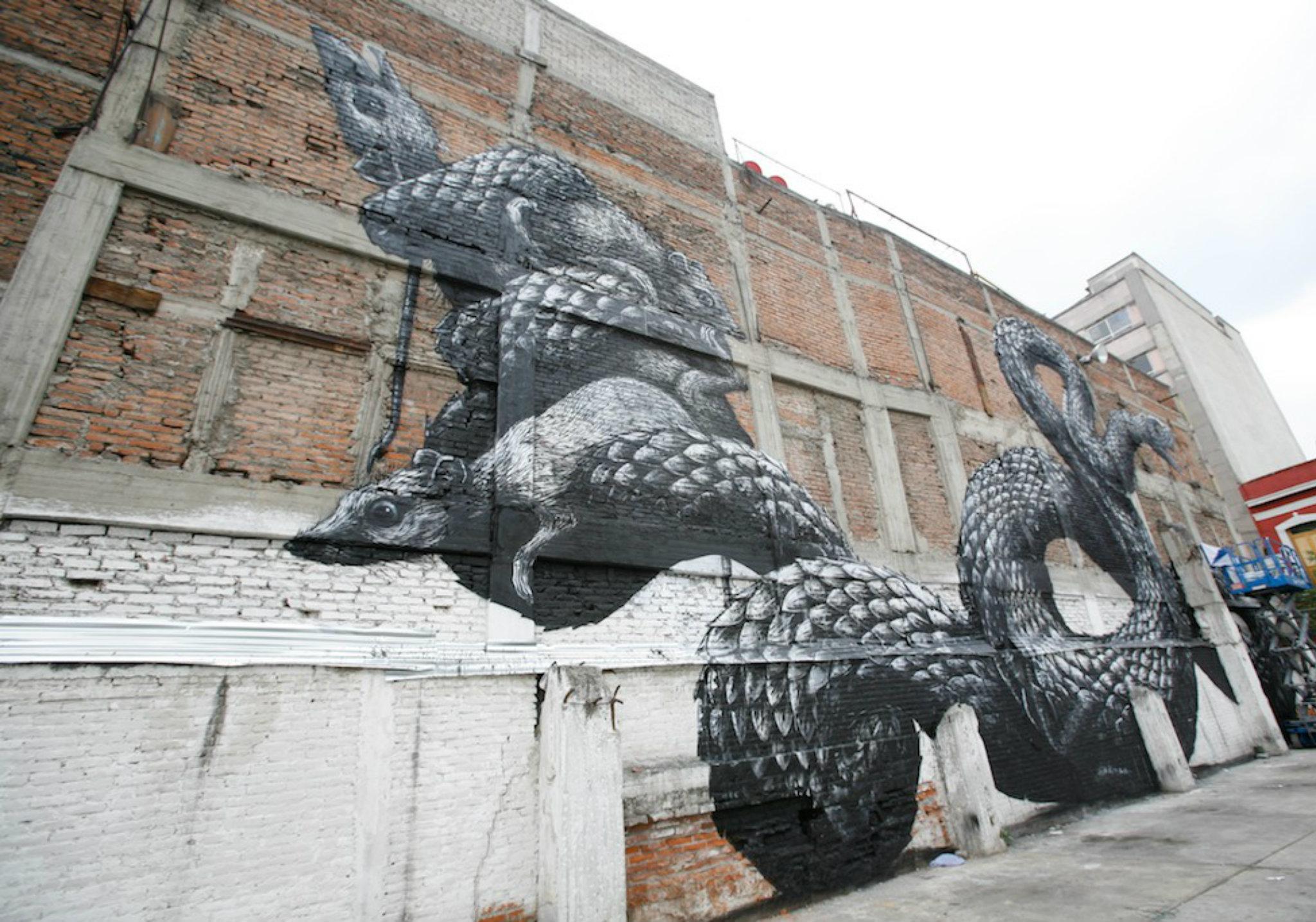 Roa arte urbano