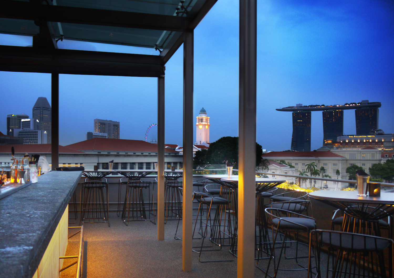 20 Best Rooftop Bars in Singapore