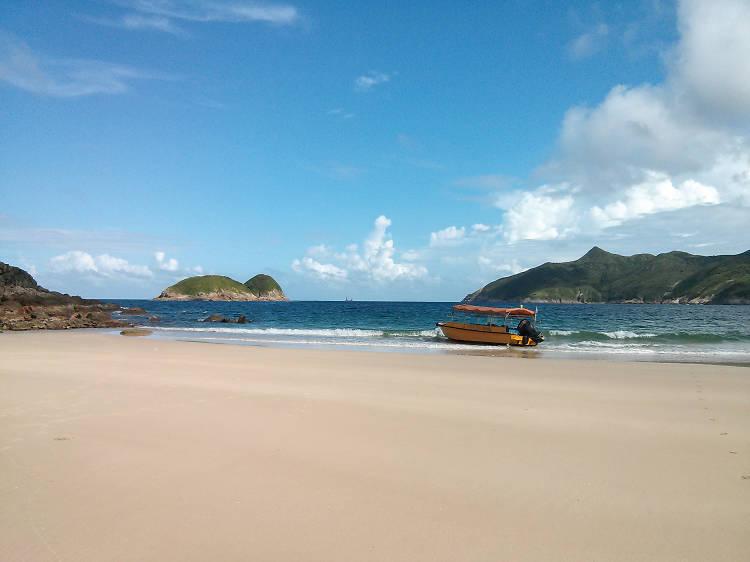 陽光與海灘