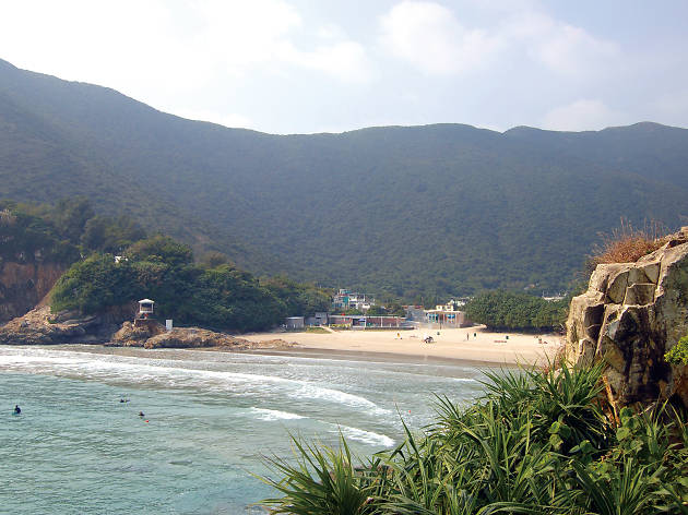 shek o beach how to get there