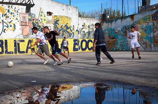 Futbol carrer