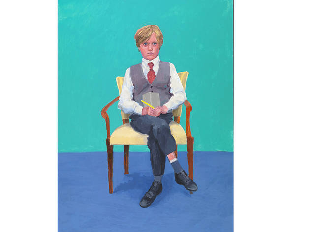 (David Hockney: 'Rufus Hale', 24-25 November, 2015. © David Hockney. Photo: Richard Schmidt)
