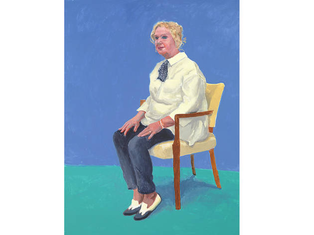 (David Hockney: 'Celia Birtwell', 31 August, 1-2 September 2015. © David Hockney. Photo: Richard Schmidt)