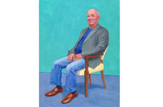 (David Hockney: 'David Juda', 22-25 March 2015. © David Hockney. Photo: Richard Schmidt)