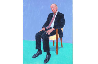 (David Hockney: 'Jacob Rothschild', 5-6 February 2014. © David Hockney. Photo: Richard Schmidt)