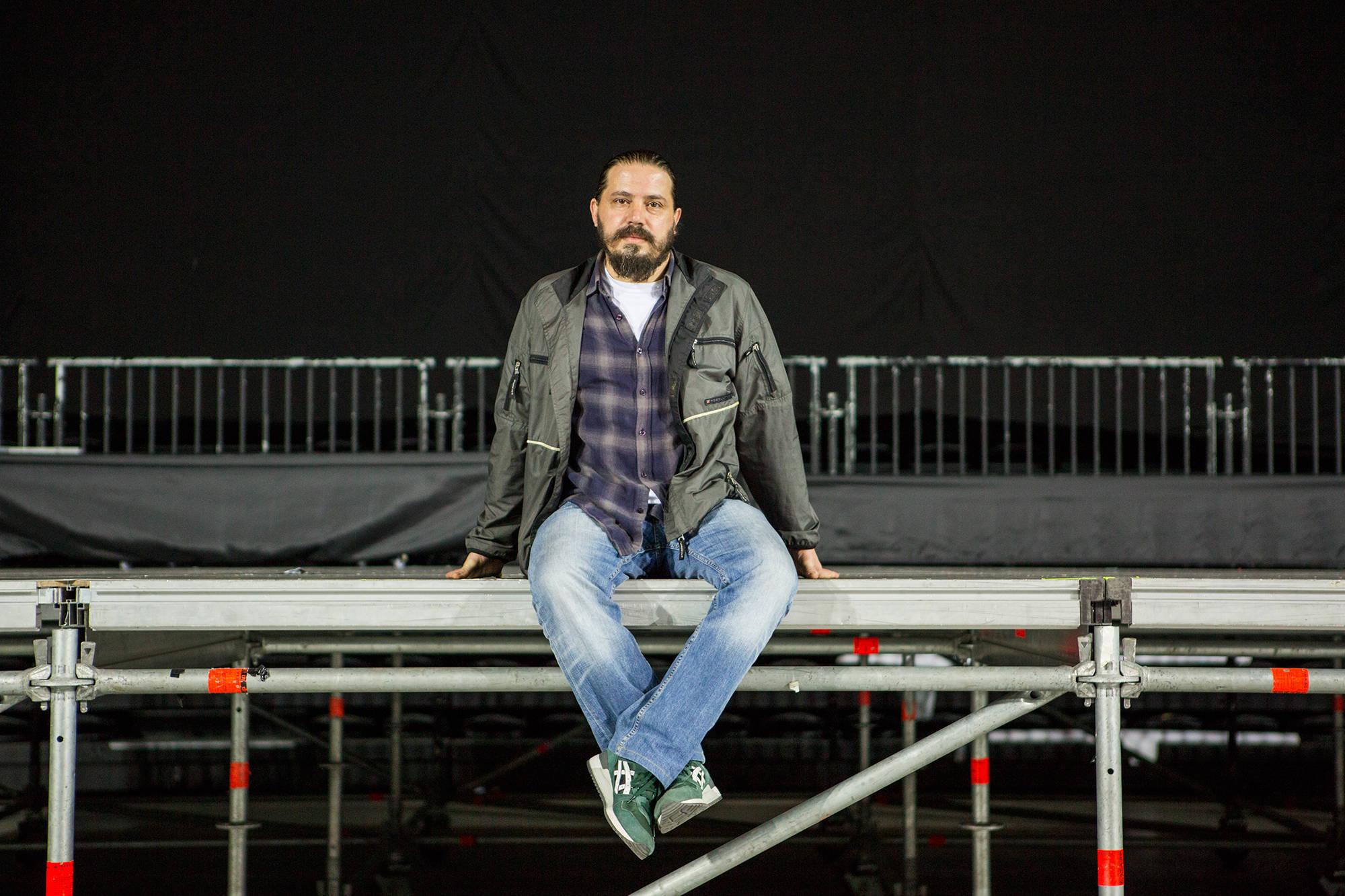 Alper Kanışkan / Teknik prodüksiyon sorumlusu, Volkswagen Arena