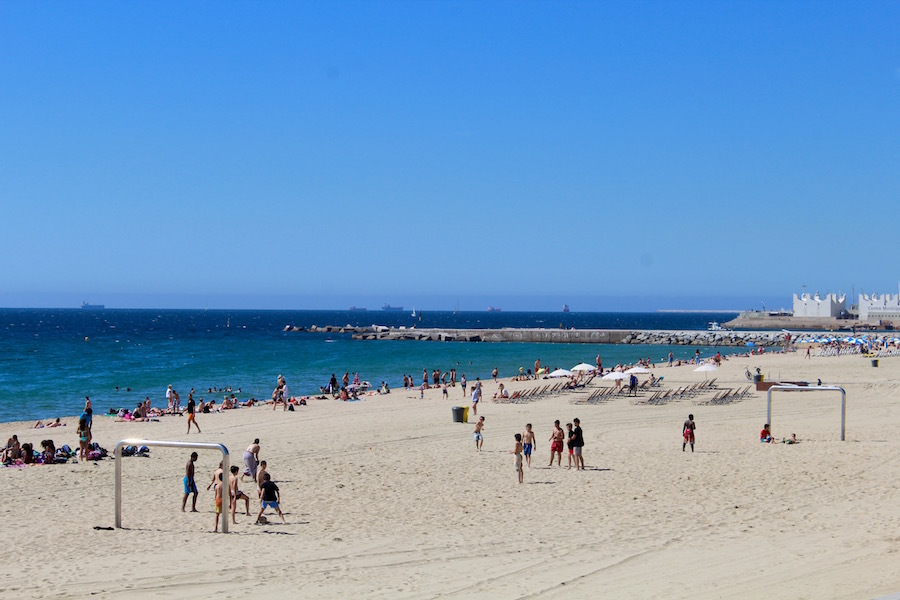 Your guide to Barcelona's city beaches