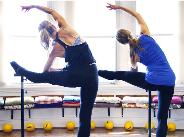 Brilliant barre fitness classes in London