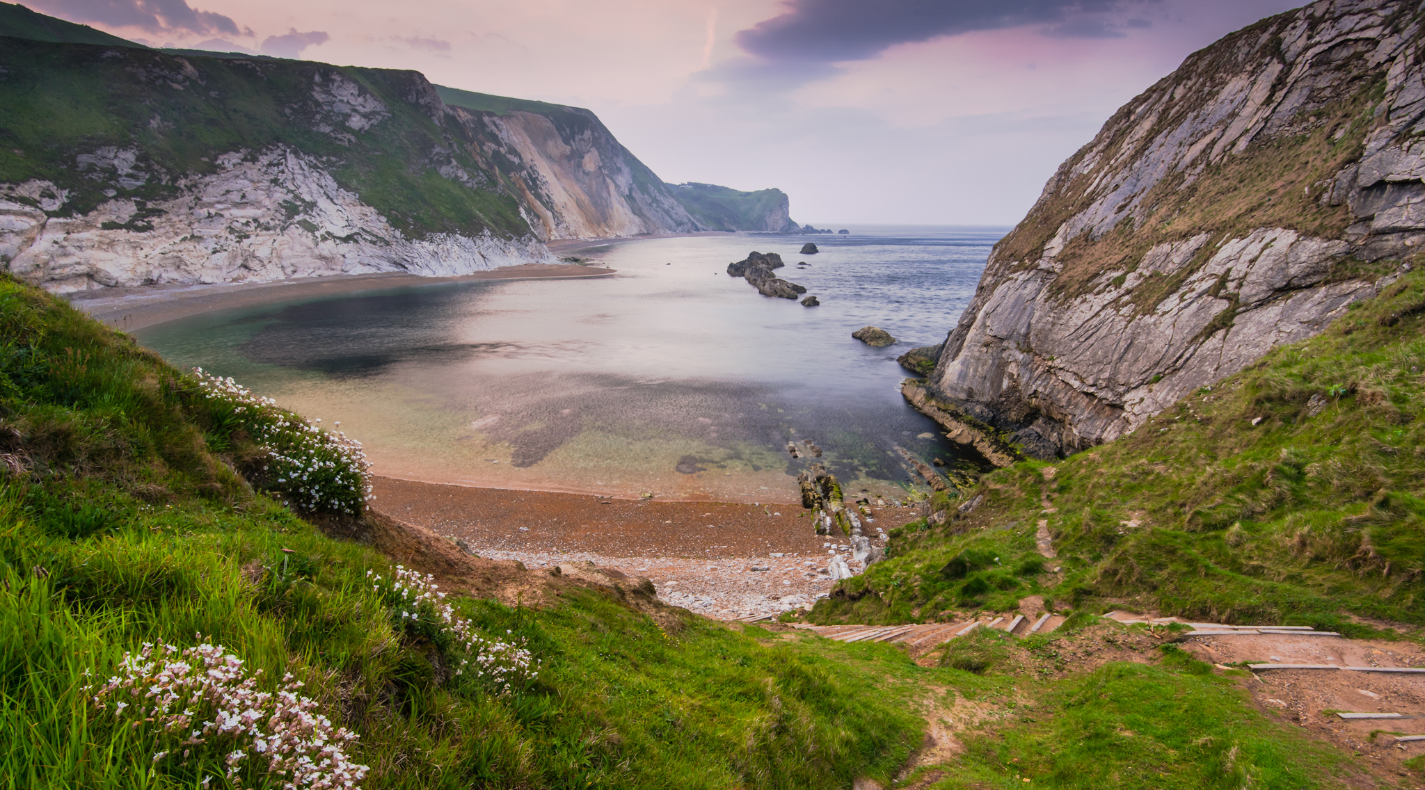 Man O'War Beach, Dorset