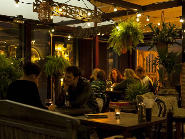 Best gardens in London restaurants, Dishoom