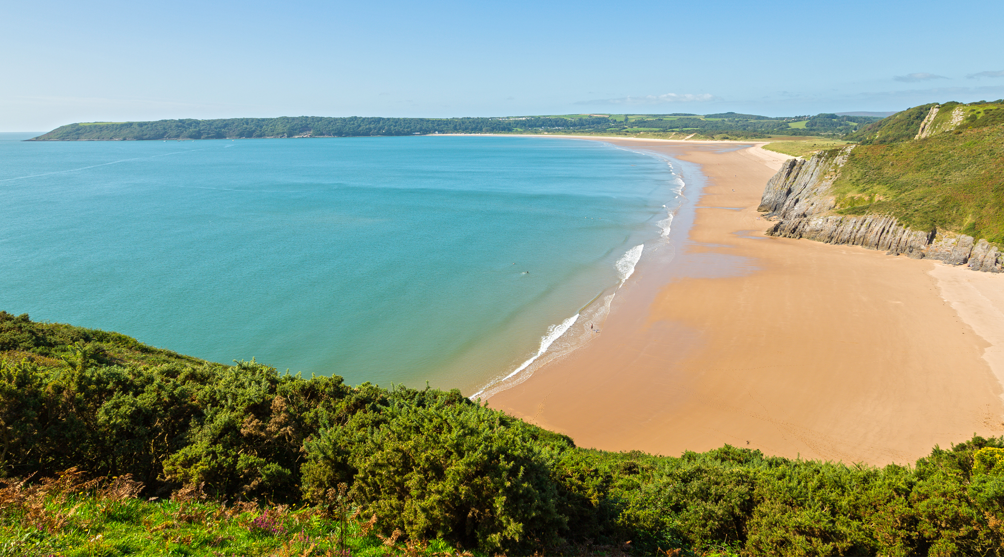 The Best Beautiful And Hidden UK Beaches Beaches And Coastlines - Britains 15 best beaches