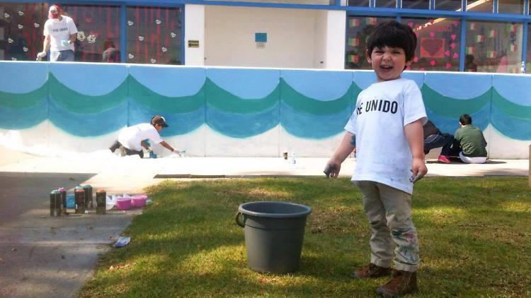Arte urbano para niños