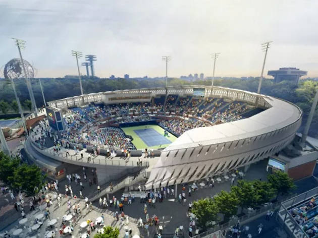 New Grandstand Tennis Stadium will open for the U.S. Open