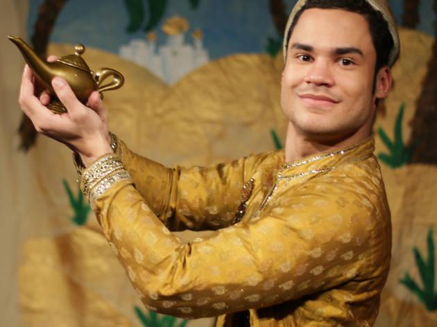 Aladdin at the Galli Theater