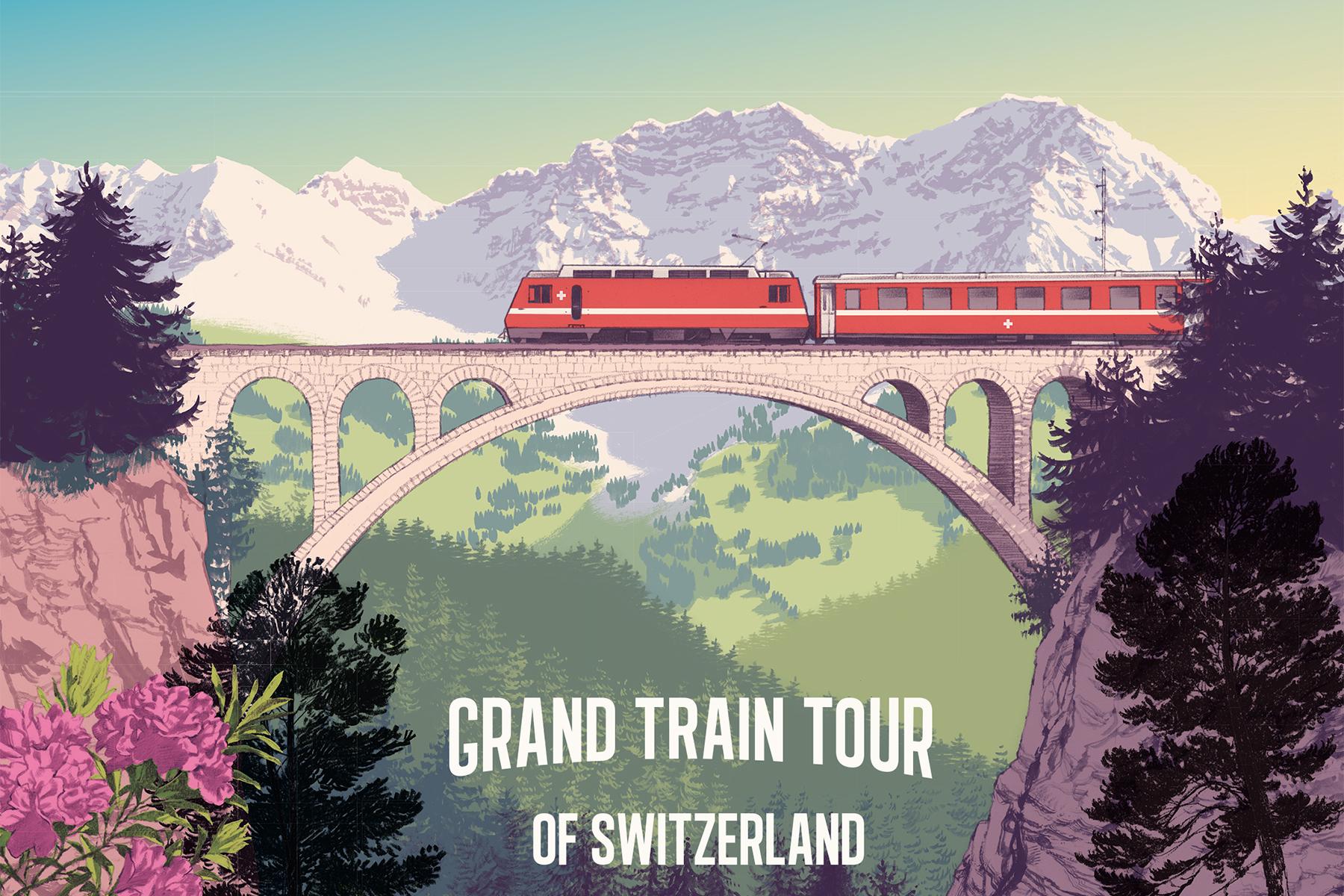 Switzerland's Grand Train Tour