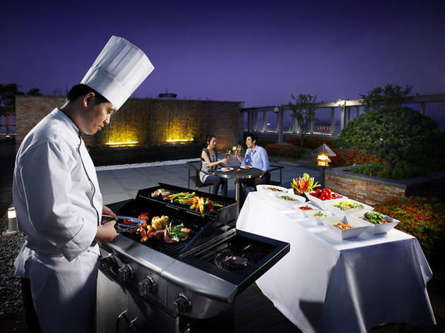 Urban BBQ at the Courtyard Marriott Seoul Times Square