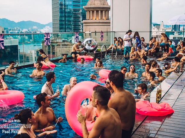 W Hong Kong Pool Party