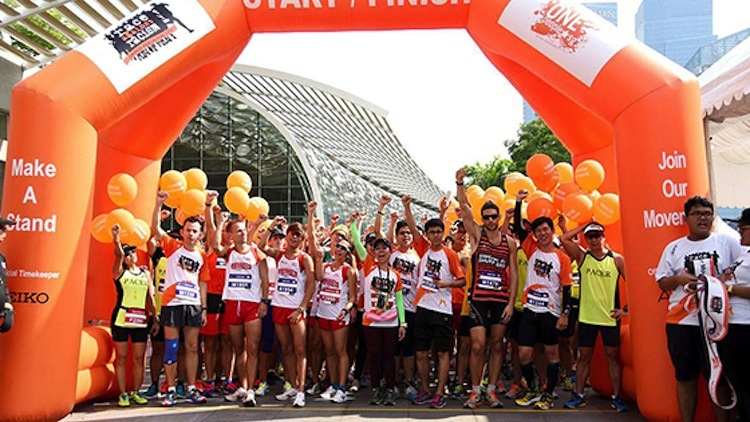 Running events in Singapore