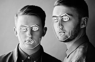 Black and white shot of disclosure