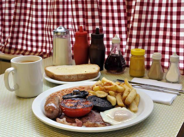 best breakfast in london, regency cafe