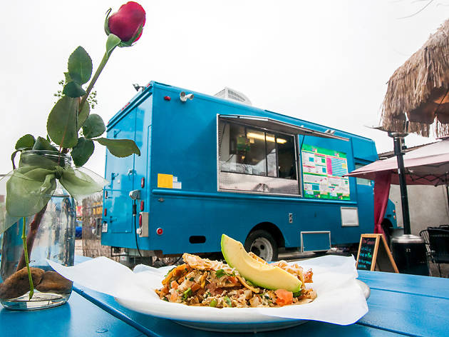 Local food trucks serving great food