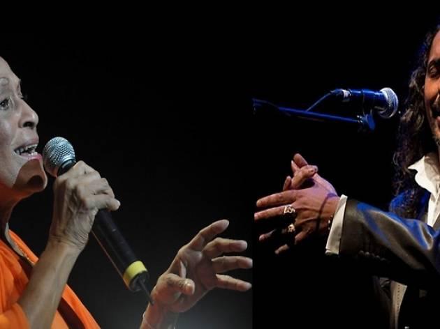 Omara Portuondo y Diego el Cigala