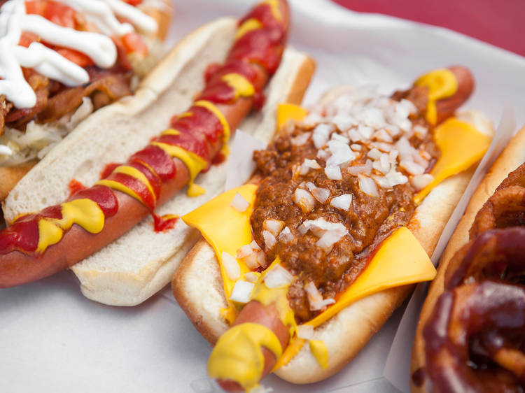 The best hot dogs in Los Angeles